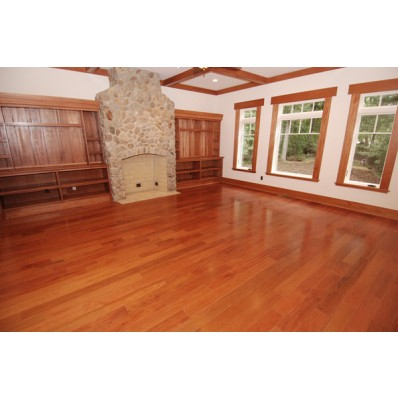 Installed Brazilian Cherry Flooring